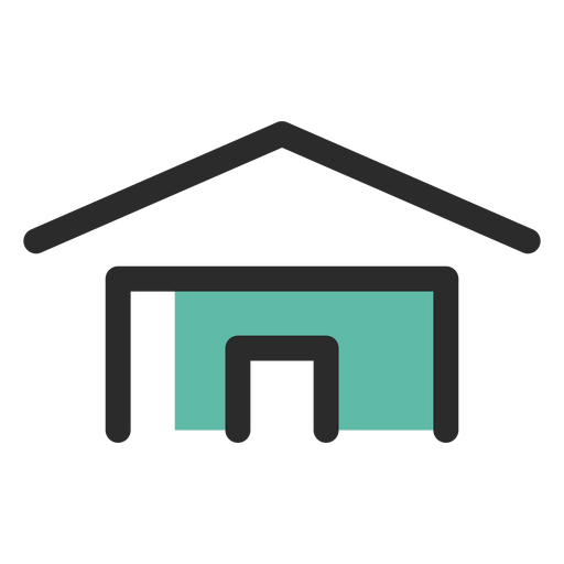Ícone de contato de endereço residencial Transparent PNG