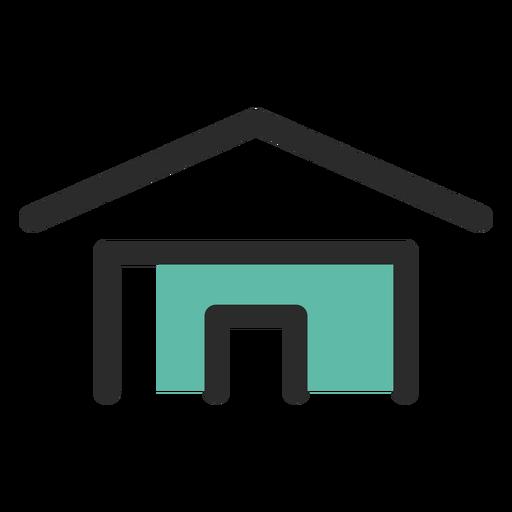 Icono de contacto de dirección de casa Transparent PNG