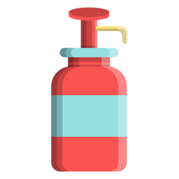 Icono de dispensador de jabón líquido