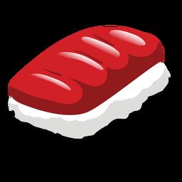 Ícono de sushi de atún maguro