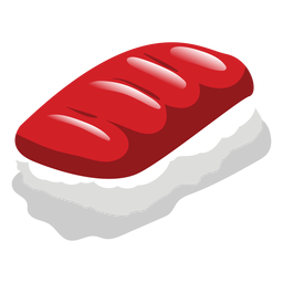 Maguro atum sushi ícone