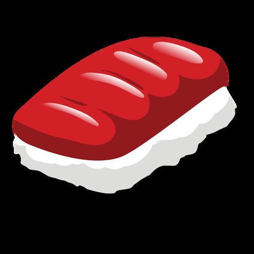 Maguro tuna sushi icon