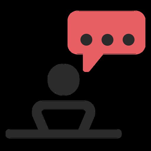 Icono de contacto reunión de contacto Transparent PNG