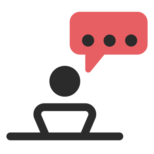 Meeting talk contact icon Transparent PNG