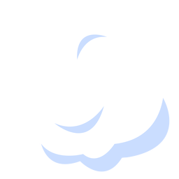 Ilustração de nuvem de meteorologia