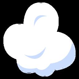 Ilustración de la nube de meteorología