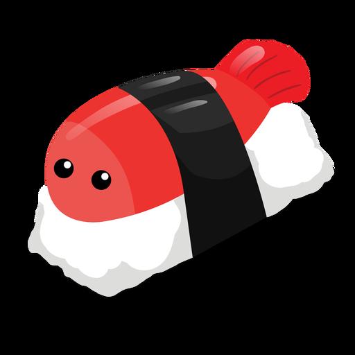 Icono de sushi Nigiri Transparent PNG
