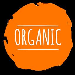 Sinal de círculo orgânico