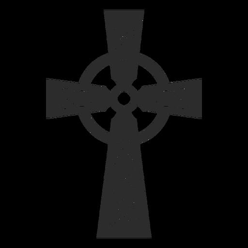 Icono adornado de la cruz cristiana Transparent PNG
