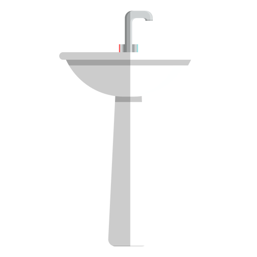 Pedestal bathroom sink icon Transparent PNG