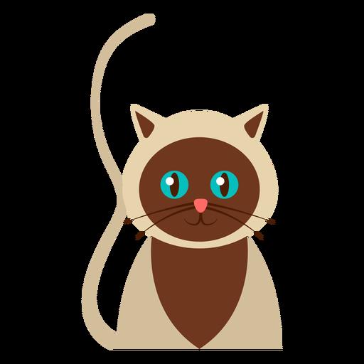Mascota gato avatar Transparent PNG