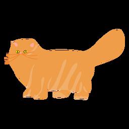 Ilustración gato mascota