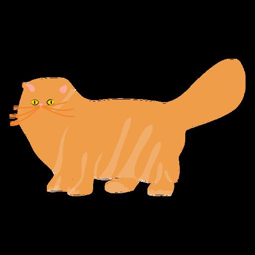 Ilustración de gato mascota