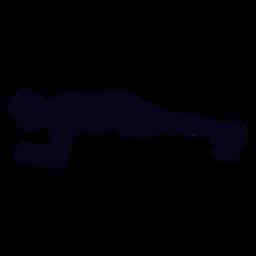 Planke Crossfit Silhouette