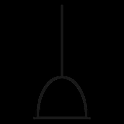 Icono de trazo de émbolo de plomero Transparent PNG