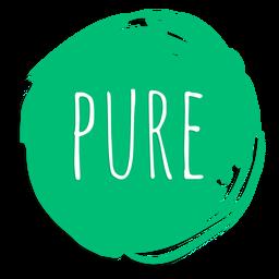 Pure circle sign