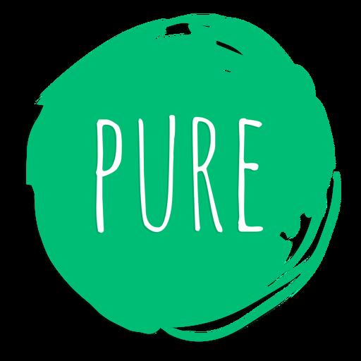 Sinal de círculo puro Transparent PNG