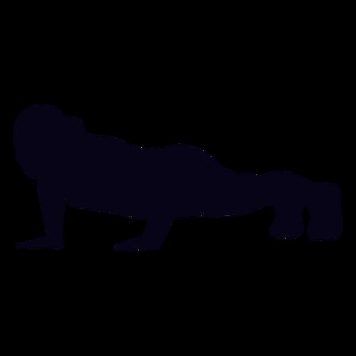 Levante a silhueta crossfit Transparent PNG