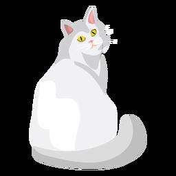 Ilustração de gato Ragdoll