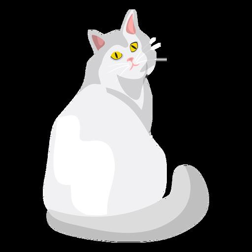 Ilustración del gato ragdoll Transparent PNG