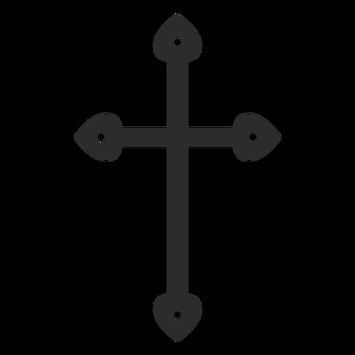 Elemento de cruz cristiana religiosa Transparent PNG