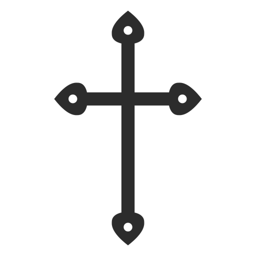 Religious christian cross element Transparent PNG