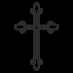 Religiöses Kreuzelement