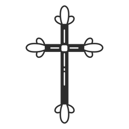 Religious cross element
