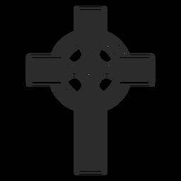 Icono de la cruz religiosa