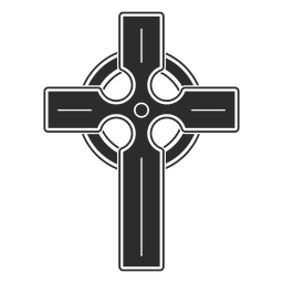 Religious cross icon