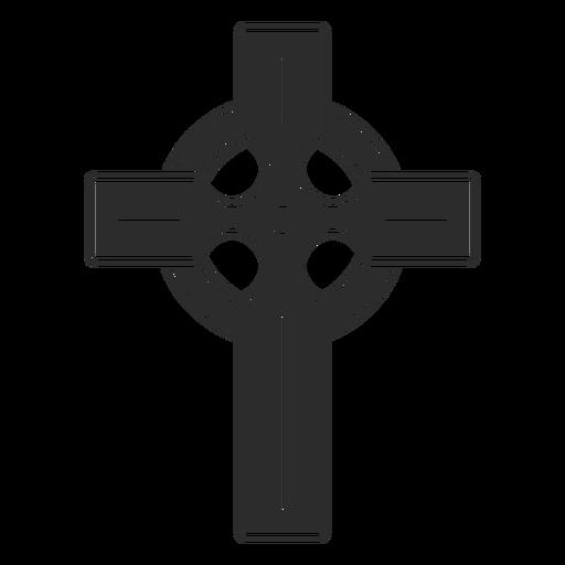 Icono de cruz religiosa