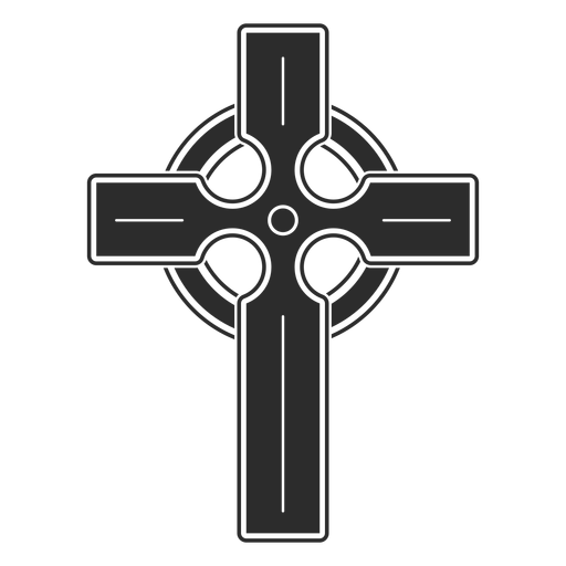 Religious cross icon Transparent PNG