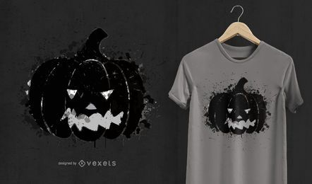 Pumpkin Halloween t-shirt design