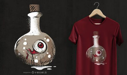 Diseño de camiseta Dark Eye
