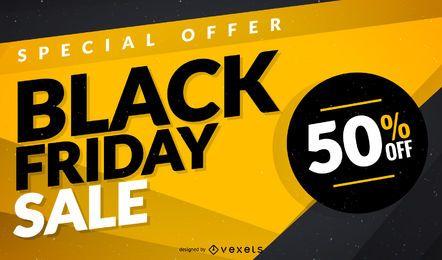 Schwarzer Freitag Verkauf Template Design