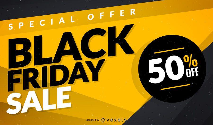 Design de modelo de venda de sexta-feira negra