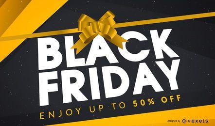 Diseño de regalo de Black Friday