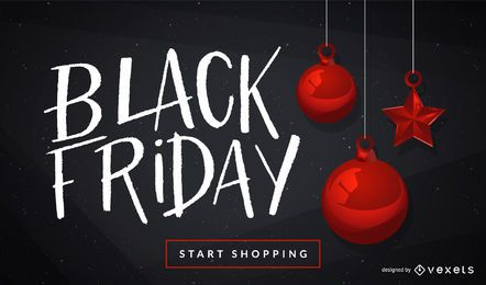 Black Friday Ornaments Design