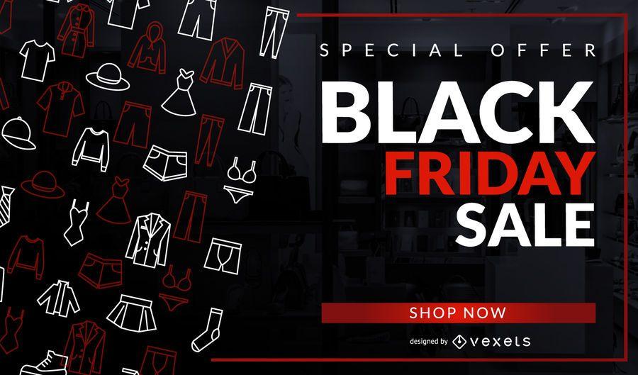 Black Friday Sale Clothing Design