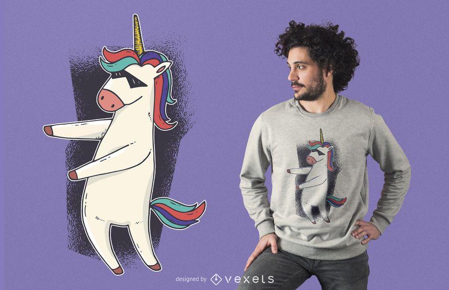 Unicorn Floss Dance T-shirt Design