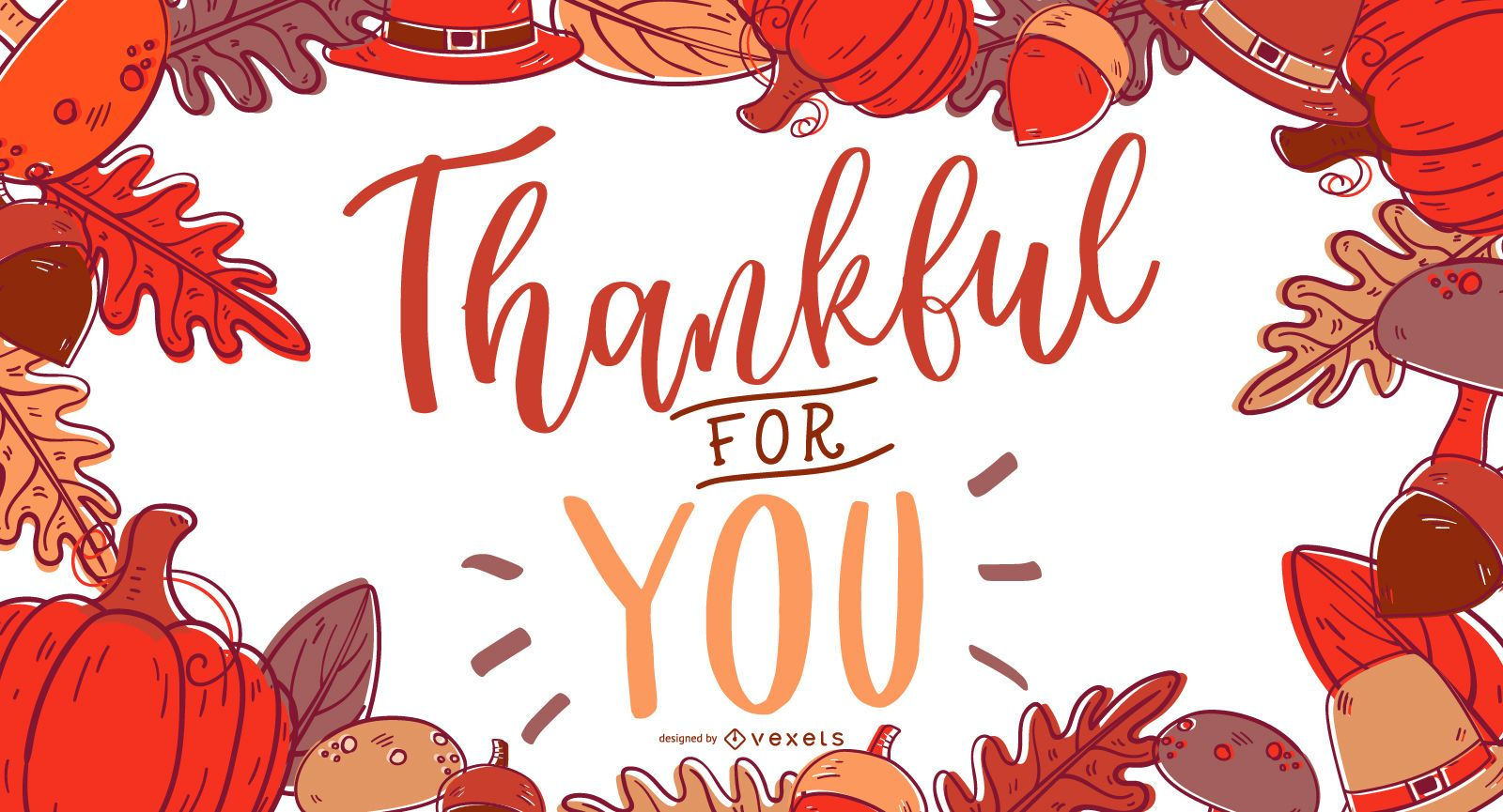 Thankful for you banner