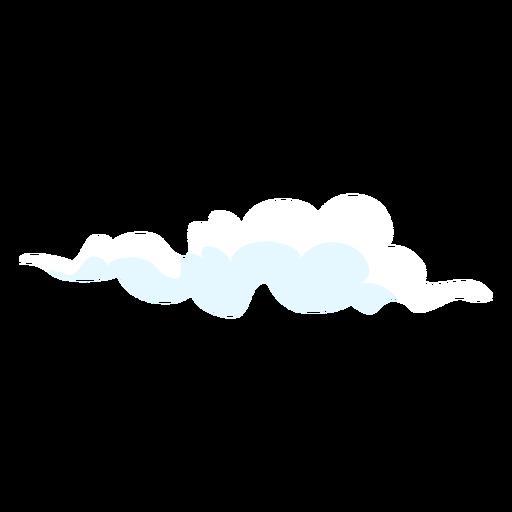 Nuvens de elemento de design de tempo nublado Transparent PNG