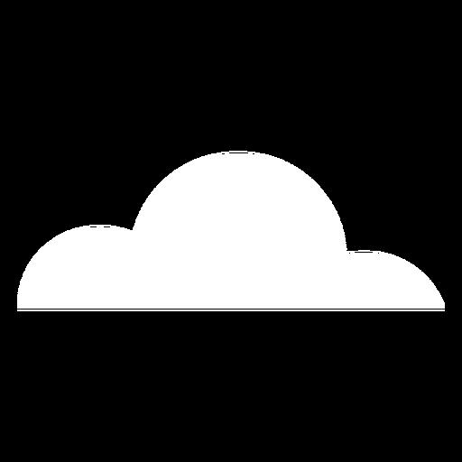 Nubes de elemento de clima nublado Transparent PNG