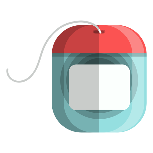 Dental floss icon bath icons