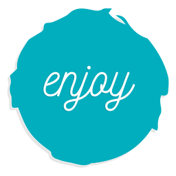Enjoy circle sign circle element