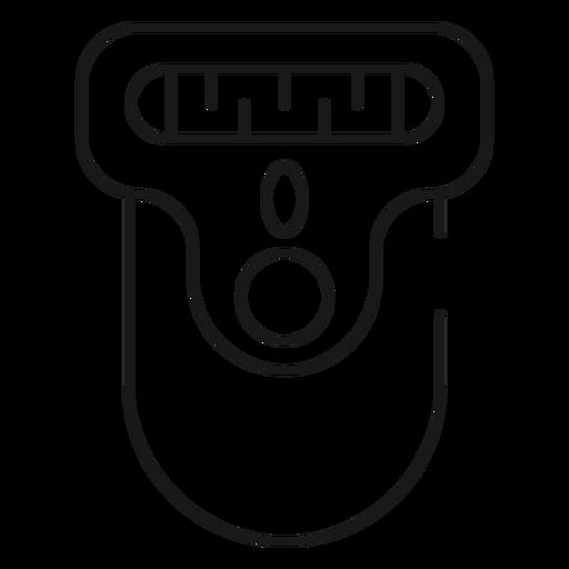 Epilierer Schlaganfall-Symbol Bad Symbole Transparent PNG