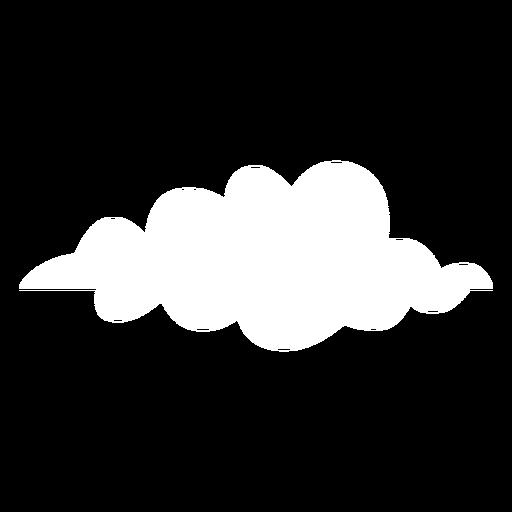 Nuvens planas nuvem de previsão Transparent PNG