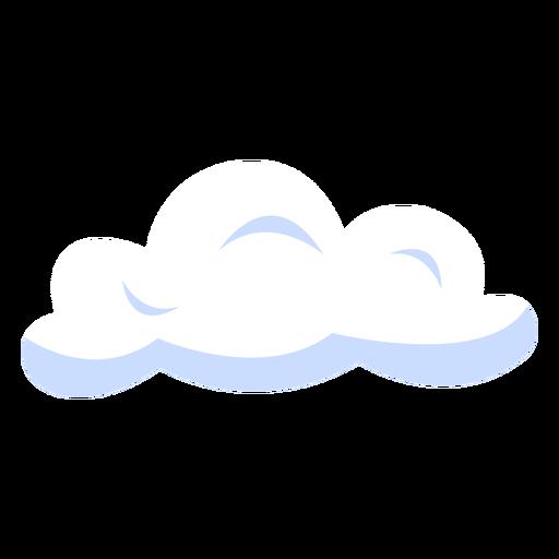 Pron?stico de nubes de ilustraci?n de nubes