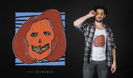 Nancy Pelosi pumpkin t-shirt design