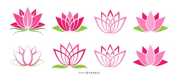 Lotus icons set